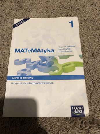 Książka Matematyka 1