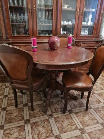 conjunto de sala móvel cadeiras e mesa