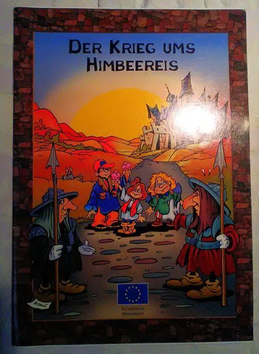 """Banda desenhada """"Der Krieg ums Himbeereis"""" Buarcos - imagem 1"""