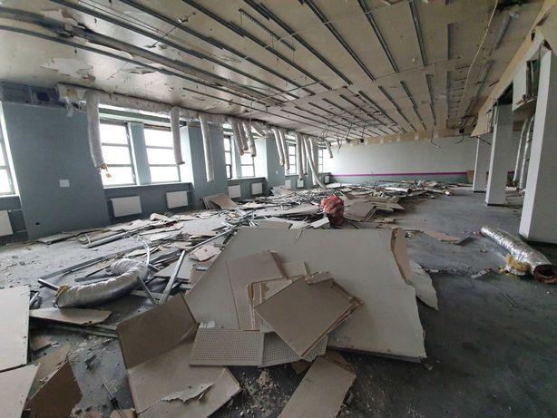 Wyburzanie ścian, skuwanie betonu, płytek. Rozbiórki