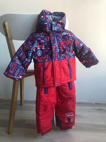 Зимний термо костюм комбинезон курточка Chicco