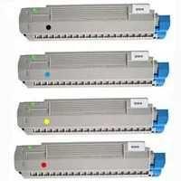 Оригінальний комплект тонер-картридж OKI C801/C821