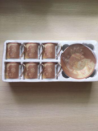 сервіз кавовий новий в упаковці. 12 предметів