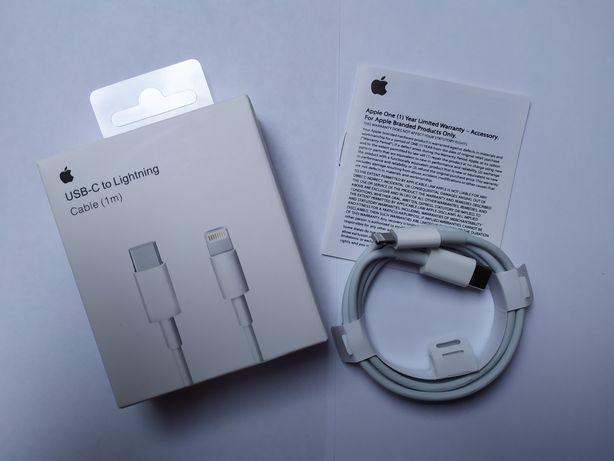 Nowy ! KABEL APPLE LIGHTNING USB-C iPhone 12 11 X XS XR Okazja !