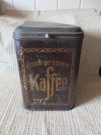 Stara puszka na kawę