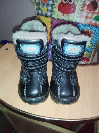 Зимние ботиночки на цигейке.