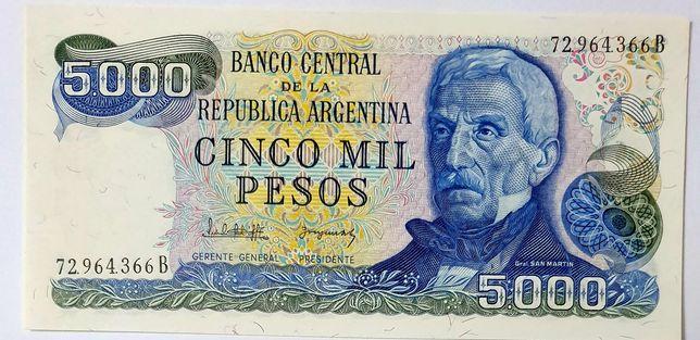 Banknot ARGENTYNA UNC polecam