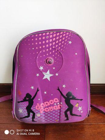 Plecak tornister szkolny marki Herliz kolekcja AIRGO kolor różowy