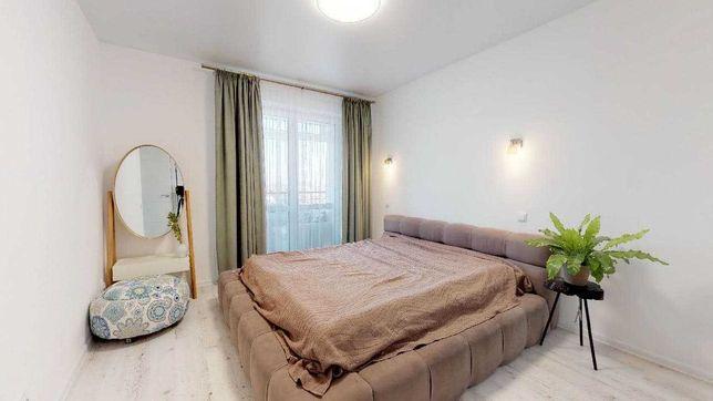 2к квартира с ремонтом и мебелью от собственника.