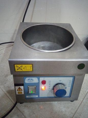 Aquecedor de óleo para laboratório marca univeba selecta 250 graus