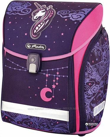 Ранец рюкзак школьный Herlitz MIDI Unicorn Night и подарок!