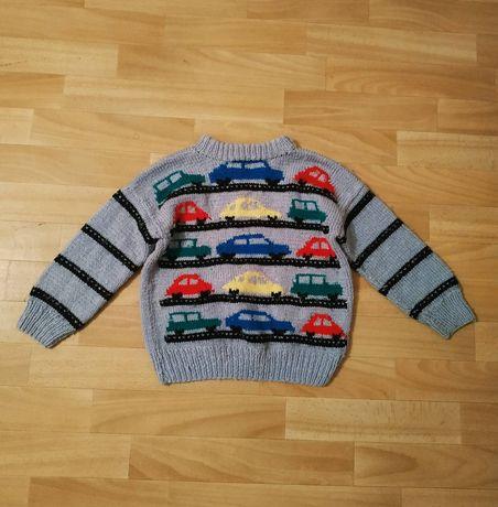 Теплая кофта свитер свитшот для мальчика