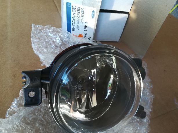 Nowy oryginalny lewy halogen + H8 Ford Focus II 2004-8 C Max 2003-7