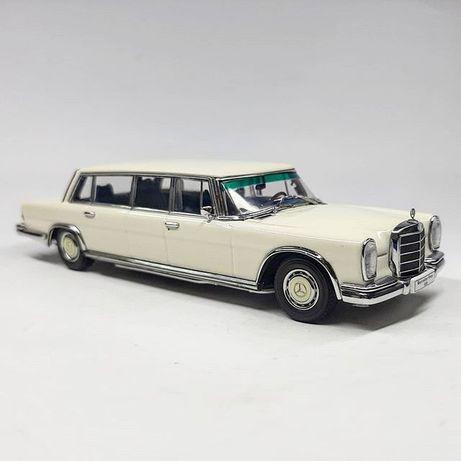 Miniatura Mercedes 600 limousine Auto Art 1:43