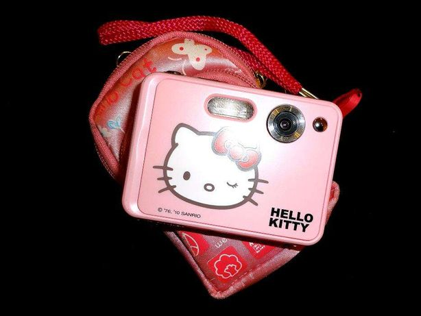 Máquina Fotográfica Digital Hello Kitty