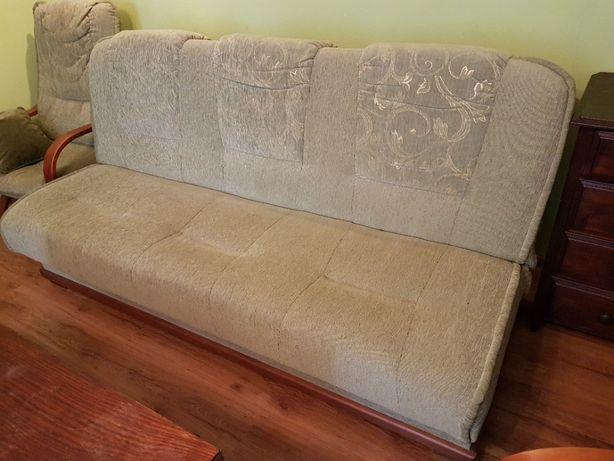 Zestaw wypoczynkowy wersalka (sofa) + 2 fotele