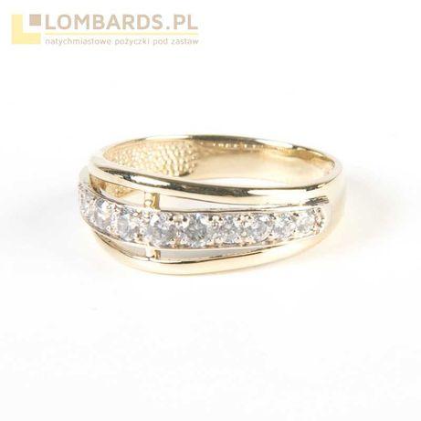 Złoty pierścionek 2,87 gr pr 585