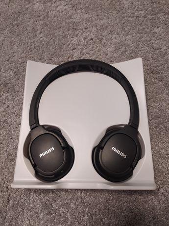 Słuchawki bezprzewodowe Philips TASH402bk sportowe