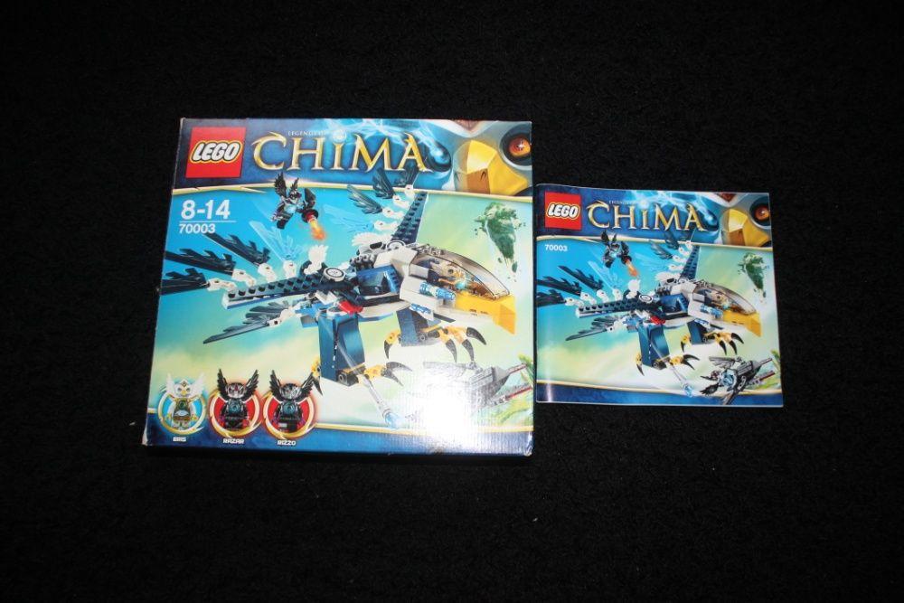 LEGO Chima 70003 Orzeł Eris Unikat JAK NOWE Warszawa - image 1