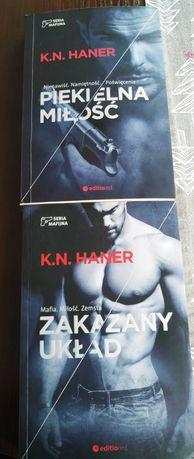 Sprzedam książki K. N Haner