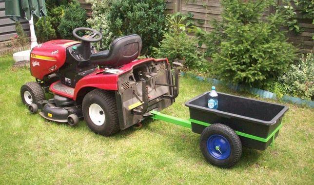 Przyczepka do traktorka kosiarki 120kg