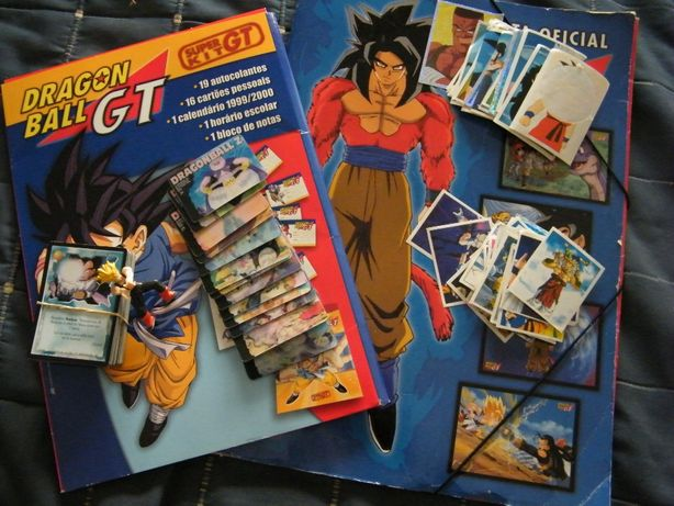 Dragon Ball Z/GT (cromos, cartas, berlinde, bonecos, diversos,etc.)