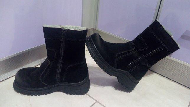 Ботинки,полусапожки,ботинки детские (нубуковые,замшевые) зимние сапожк