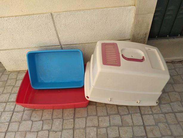 Caixa sanitária / WC para gatos