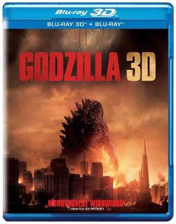 Sprzedam film Godzilla 2D/3D (2xBlu-ray)
