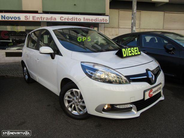 Renault Scénic 1.5 dCi 110cv 6Vel. 195€/Mês* GPS 96.000KM