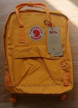 Plecak Fjallraven Kanken 16L Żółty