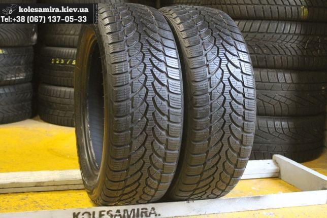 205/55 R16 Bridgestone, 7,3 мм, шины зима, 2 шт (195/215/50/60)