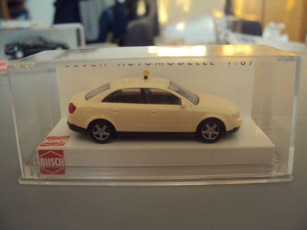 model auta Audi A4 Taxi skala 1/87 H0 busch nie piko