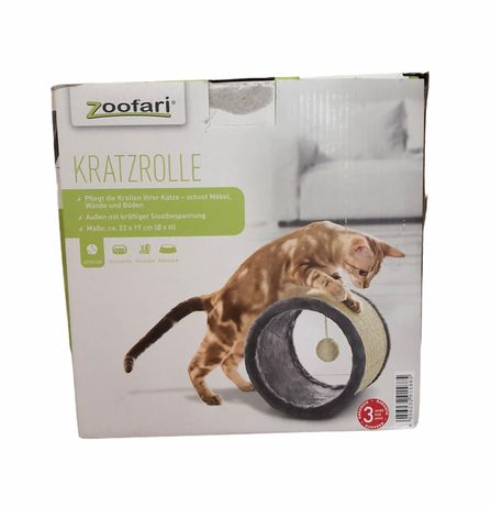 Когтеточка-тонель для кішок 29 х 19 см Zoofari