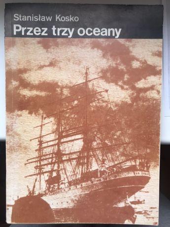 """""""Przez trzy oceany"""" książka"""