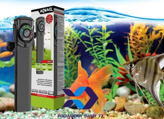 Aquael Grzałka Ultra Heater 25/50/75/100/150 - Nowa 2l gwar. -akwarium