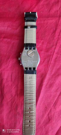 Relógio de pulso preto Swatch