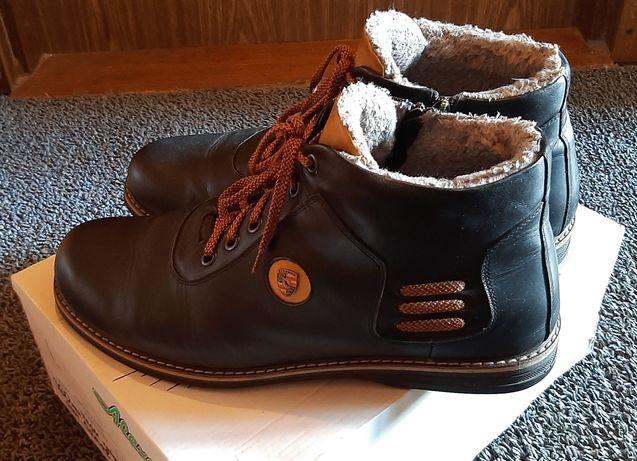 Зимние мужские ботинки 47 размера(33см.).