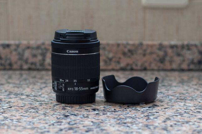 Objetiva Canon EF-S 18-55 IS STM