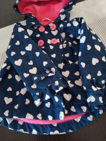 Płaszczyk wiosenny dla dziewczynki