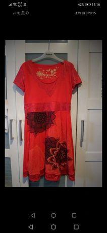 nowa śliczna sukienka markowa desigual