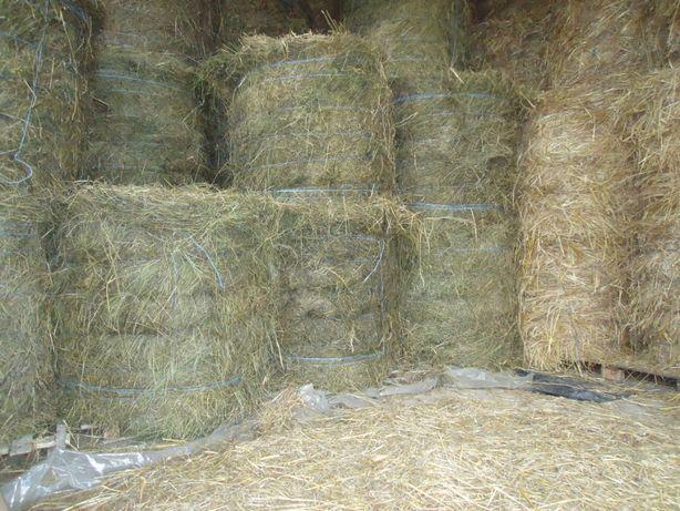 продам сено и солому в рулонах