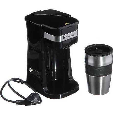 Капельная кофеварка + термостакан Domotec MS-0709 (700Вт)