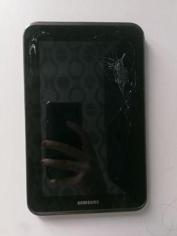 Tablet Samsung Galaxy Tab 2 pęknięty
