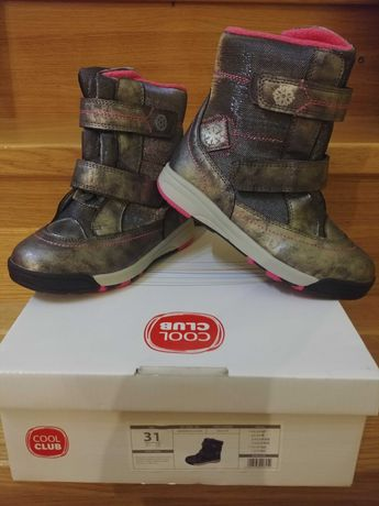 Nowe Smyk kozaki trzewiki buty zimowe dla dziewczynki 31