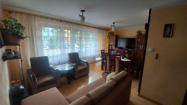 Mieszkanie 48m² - 2 pok., parter