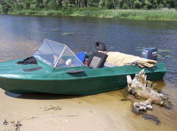 Лодка крым, мотор Yamaha 40 2-ух тактный