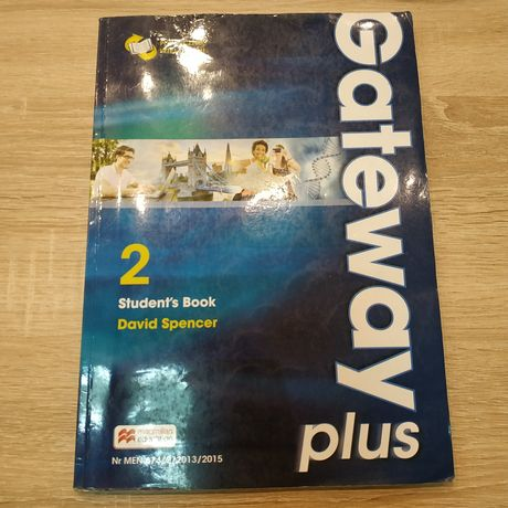 Podręcznik + ćwiczenia Gateway plus 2