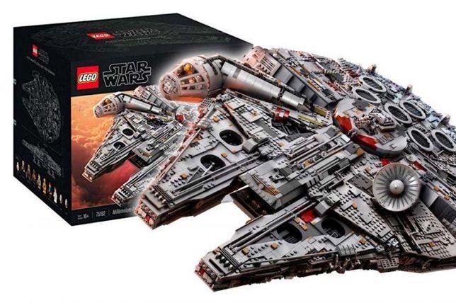 Lego millennium falcon-75192