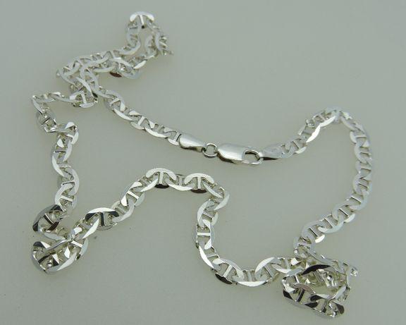 łańcuch ze srebra